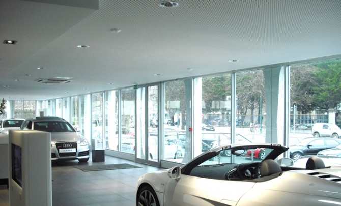 Audi Center in Dublin